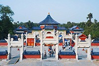 China _ Beijing PÚkin _ Chinese City _ Temple of the Sky Tiantan _ Heavenly imperial crown Huangqingyu