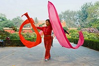 China - Beijing PÚkin - Morning gymnastics (thumbnail)