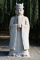 China _ Beijing PÚkin _ Surroundings _ Ming Dynasty Tombs _ Spirits way