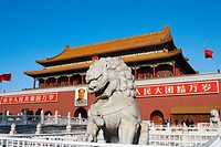 China _ Beijing PÚkin _ Tian´anmen Square and The Gate of Heavenly Purity
