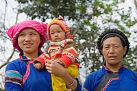 Hmong people in Bac Ha, Vietnam