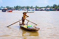 Vietnam _ The South _ The Delta of Mekong _ Can Tho