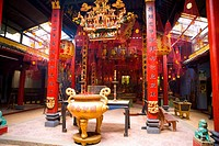 Vietnam _ The South _ The Delta of Mekong _ Can Tho _ &#182;ng Temple