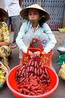 Vietnam _ The South _ The Delta of Mekong _ Can Tho _ Market