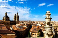 Spain _ Castile and Leon _ Salamanca _ View of La Clerecia _ Church of the Pontifical University