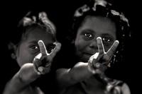 bambine, isola bathurst, isole tiwi, isola melville, territorio del nord, australia