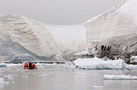 Antarctica, Antarctic Peninsula, Paradise Bay, MR.