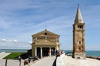 madonna dell´angelo sanctuary, caorle, veneto, italy