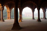 Inside Red Fort, Delhi, India