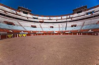 Panoramic view of a bullring, Plaza De Toros San Marcos, Aguascalientes, Mexico