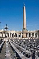 St  Peter's square  The Vatican City, Rome, Lazio, Italy