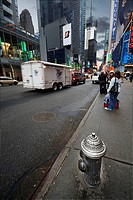 Hydrant, Times Square, Manhattan, NYC, USA
