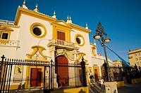 La Maestranza bullring, Sevilla. Andalucia, Spain