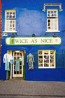 Shopfront at High St. Galway City. Co. Galway. Ireland