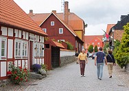 Old town, Åhus, Sweden