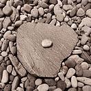 Closeup of stones