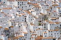 Casares. Malaga province, Andalucia, Spain