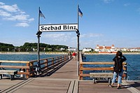 D, Germany, Mecklenburg Western Pomerania, Rügen, Ruegen, Isle, Baltic Sea, Seebad Binz, Hotel, Architecture, Building, Buildings, Holiday, Spring, Sp...