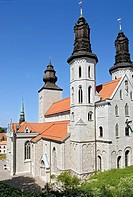 Dom Church in Visby on Gotland