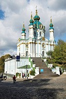Ucraine, Kiev, St.Anrew´s Church