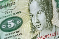 Bank note, close_up