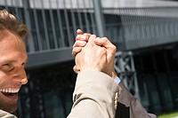 Germany, Baden Württemberg, Stuttgart, Handshake