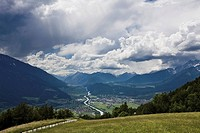 Austria, Tyrol, Telfs, Landscape