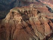 Grand Canyon im Herbst Luftaufnahme