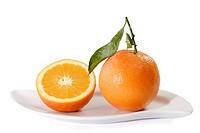 Eineinhalb Orangen