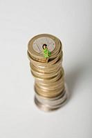 Child with savings balance