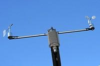Windrichtungsgeber und Anemometer