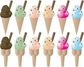 ice cream sprinkle