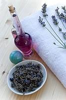 Lavendel und heilkräuter
