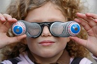 DISGUISED CHILD Pair of humouristic glasses.