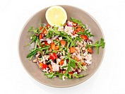 SALAD Tuna salad with rocket. Worldwide distribution except for South Africa