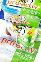 HEALTH FOOD Dairy products and ´pro_active´ butter reduce significantly the rate of cholesterol in the framework of an adapted diet.