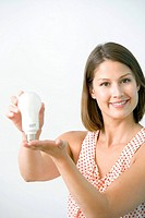 Model. Low consumption light bulb