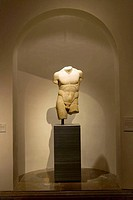 Torso of ´Discophoros´. Prado Museum. Madrid. Spain
