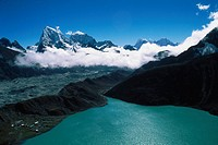 Peaks at Gouyo Lakes , Nepal