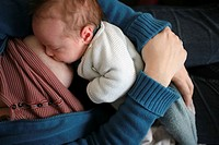 BREAST_FEEDING 2 week old baby boy.