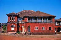 King thiba palace at Ratnagiri , Maharashtra , India