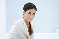 Professional woman smiling at camera, portrait