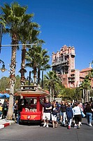 Hollywood Tower Hotel, Sunset Boulevard, Disney MGM Studios, Disney World, Orlando, Florida, USA