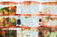 Assorted Candy in Containers