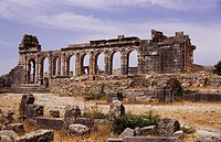 Roman ruins, Volubilis, Morocco