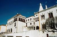 National Palace, Palacio Nacional de Sintra, Sintra, near Lisbon, Portugal