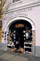 Uveg porcelain, gold and crystal gift and souvenir shop, Szentendre, Hungary
