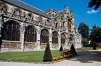 Notre Dame Church, Grand Andely, Les Andelys, Normandy, France