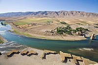Turkey, Eastern Turkey, Hasankeyf, Tigris River, View from the Kale Fortress