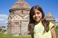 Turkey, Eastern Turkey, Erzurum, Uc Kumbetler, Three Tombs